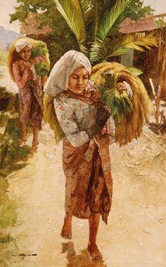 Hasim (Jakarta, 1921-1982), kostbare oogst.