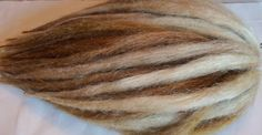 60 Custom Synthetic Dreads Hair Extensions by damnationhair