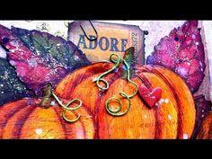 Art Journal page : Fall