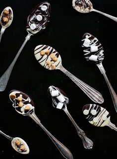 Hot Chocolate Spoons by Call me cupcake