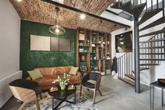 Atelier in Prague Lounges, Prague, Studios, New Homes, Couch, Living Room, Furniture, Home Decor, Bathroom