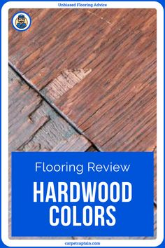 """Hardwood doesn't give you as many color options as most floors. That said, I bet you can find over 100 hardwood floors without doing too much floor shopping. Classic """"tree colors"""" range from yellow to brown to red with infinite shades of each. Then, there's stain which can make about any color hardwood floor you want. And what color do you want? Hardwood Floor Colors, Hardwood Floors, Flooring, Cabinet Colors, Types Of Wood, Infinite, Shades, Range, Yellow"""