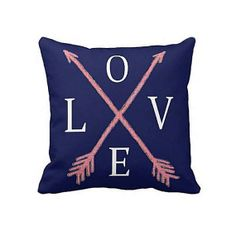 Hey, I found this really awesome Etsy listing at https://www.etsy.com/listing/159903101/love-arrow-pillow-cover-cotton-and