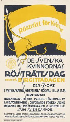 Kvinnlig rösträtt anno 1916 - Stockholmskällan