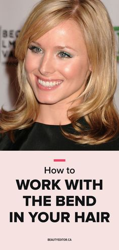 How to Work with the Bend in Your Hair   Beautyeditor