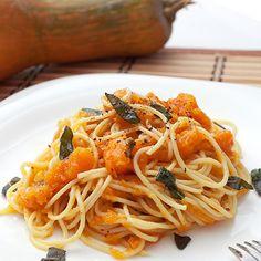 Špagete sa bundevom i žalfijom