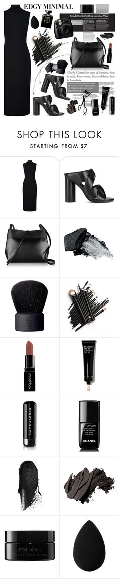 """She always wear black..."" by bklana ❤ liked on Polyvore featuring Harrods, Senso, Kara, Gorgeous Cosmetics, NARS Cosmetics, Smashbox, Bobbi Brown Cosmetics, Marc Jacobs, Chanel and arbÅ«"