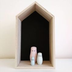 RILKE II - nesting dolls  DIY-pakket van TODIY!