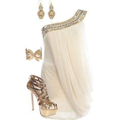 A fashion look from July 2012 featuring Alice + Olivia dresses, Miss KG sandals and Miguel Ases earrings. Browse and shop related looks.