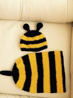 Baby Set Biene  von MyGoodShop auf DaWanda.com