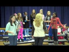 "Middle School Girls Ensemble performs ""Joy to the World"" - Episcopal Day School Augusta, GA"