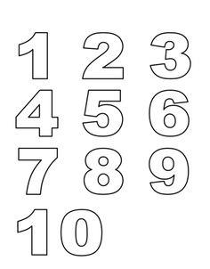 Disegno: Numeri. Disegni da colorare e stampare gratis per bambini. Puoi stampare, scaricare il disegno o guardare gli altri disegni simili a questo. disegnidacolorareonline.com.