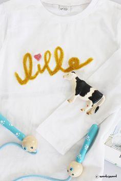 WONDERWOOD.no: DIY needle felted sweater