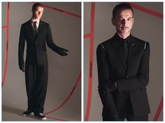 Actor Lucas Hedges and Depeche Mode frontman Dave Gahan appear in fall-winter 2017 advertising for Dior Homme.