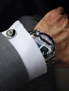Cuff link and watch...
