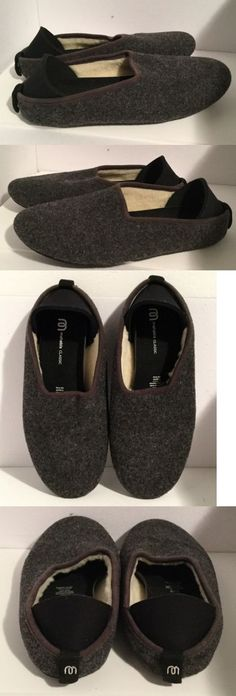 8951bbed1f2 Slippers 11505  Mahabis Classic Gray Wool Mismatched Slippers Size 39 40 -   BUY IT NOW ONLY   33.75 on eBay!