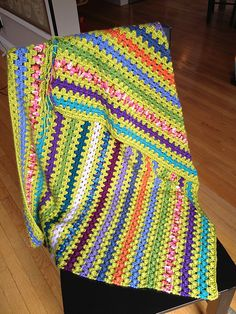 Ravelry: Project Gallery for Granny Stripes pattern by Lucy of Attic24 like these colors!