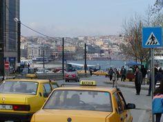Taxi's Istanbul European side Turkey photo by jadoretotravel
