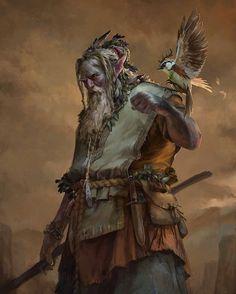 Ponto-de-Luz: Filho de um Deus com um elfo, imortal por natureza, vive andarilhando entre os reinos e cidades de Nassara, sendo considerado um sábio por seu vasto conhecimento.
