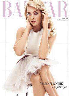 Margot Robbie for Harpers Bazaar UK April 2015