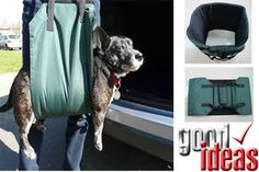 Up and Out Dog Lifting Harness for Large / Older Dog - Access for Dogs (1059)