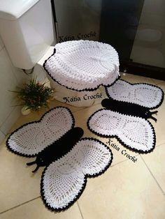 Crochet Butterfly Pattern, Crochet Bedspread Pattern, Crochet Baby Dress Pattern, Crochet Flower Patterns, Crochet Doilies, Crochet Flowers, Crochet Bear, Crochet Home, Filet Crochet