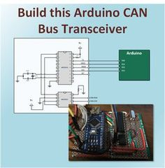 The MCP2551 and MCP2515 CAN Bus Circuit This article provides the information necessary build a CAN transceiver using an MCP2551 transceiver and an MCP2515 controller.  It's designed for easy…