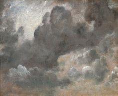 Le Prince Lointain: John Constable (1776-1837), Cloud Study - 1822
