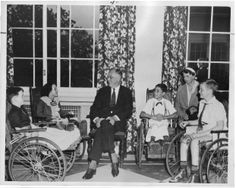 polio pictures | FDR's disability is hinted at or fully on display in the following ...