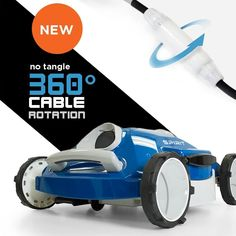 Aquabot Spirit Above and Inground Robotic Pool Cleaner with Anti-Tangle Swivel Best Above Ground Pool, Above Ground Swimming Pools, In Ground Pools, Pool Vacuum Cleaner, Robotic Pool Cleaner, Vacuum Cleaners, Best Pool Vacuum, Pool Cleaning, Cleanser