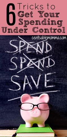 It's so easy to overspend. However, it's not great for your budget. Check out these 6 tricks to help you get your spending under control so that you can focus on your financial goals - like increasing your savings and getting out of debt.