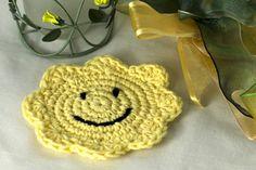 smiling face coaster