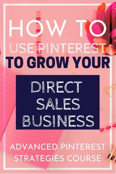 Are you a blogger or in direct sales? Learn how to use Pinterest to its full potential. The Advanced Pinterest Strategies course is for you! #directsales #pinterest #blogging #socialmedia  via @owlandforever