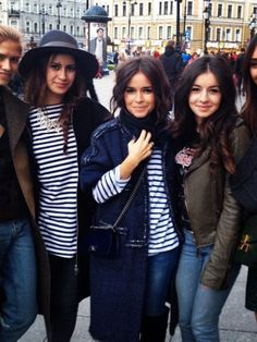 The always fashionable Miroslava Duma