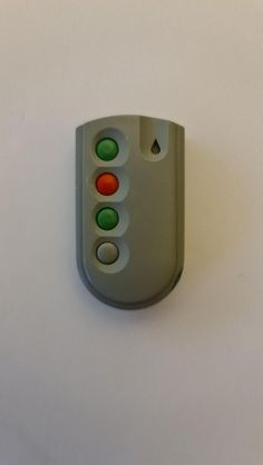 Garage Door Remote Control, Red Led, Garage Doors, Running Jacket, Fails, Button, Make Mistakes, Carriage Doors, Buttons