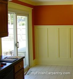 Craftsman Style Wainscotting and door trim