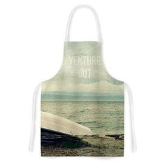 East Urban Home Venture Out by Robin Dickinson Boat Artistic Apron
