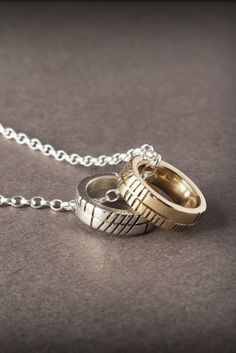 Silver and Gold Ladies Ring Pendants, designed and made for you by Claddagh Design Silversmith Eileen. Complimentary worldwide delivery.