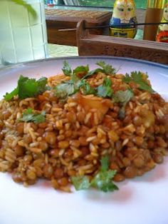 Kitchiri - This is a great cleansing meal and tasty too.  :)