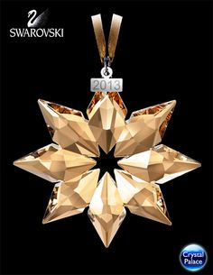 Swarovski SCS Christmas Ornament, Annual Edition 2013