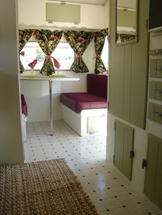 1975 Cardinal Travel Trailer  Restored...  & after my friend Cheryl & hubby's work!