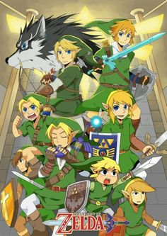 Many faces of Link