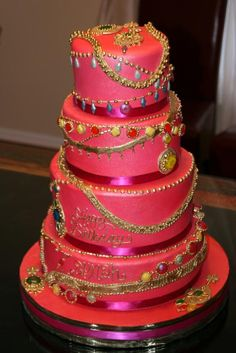 Bake Edible Jewellery Cake