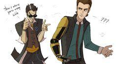 Rhys, Handsome Jack, Borderlands game