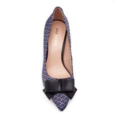 MERYL pointed toe pump with BOW !