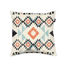 cojín estampado navajo tribal print pattern cushion diseño design decoración decoration miraquechulo