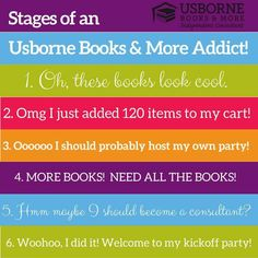 Stages of an Usborne Addict