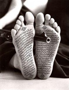 "Shirin Neshat at LACMA x & Art Now& exhibition. Shirin Neshat at LACMA x ""Islamic Art Now"" exhibition.Shirin Neshat, ""Fervor"" February a new exhibition is held at on the Is Shirin Neshat, Walker Evans, Iranian Art, Photocollage, Black White, Arabic Art, Feminist Art, Islamic Art, Female Art"