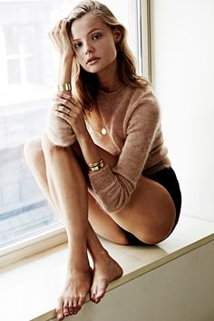 Model Magdalena Frackowiak Launches Jewelry Line-Wmag