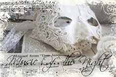 Music of the Night!  Marie Antoinette - mask